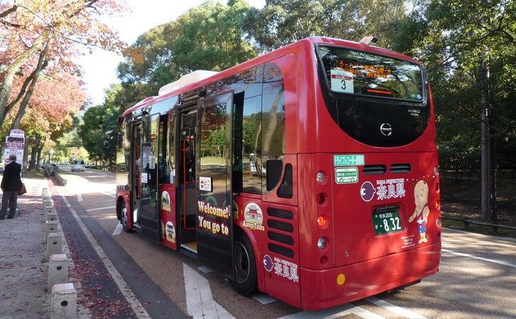 JR奈良駅から法隆寺までバス(奈良交通)でのアクセス・行き方