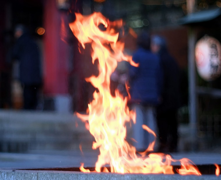 法隆寺のお焚き上げの日程