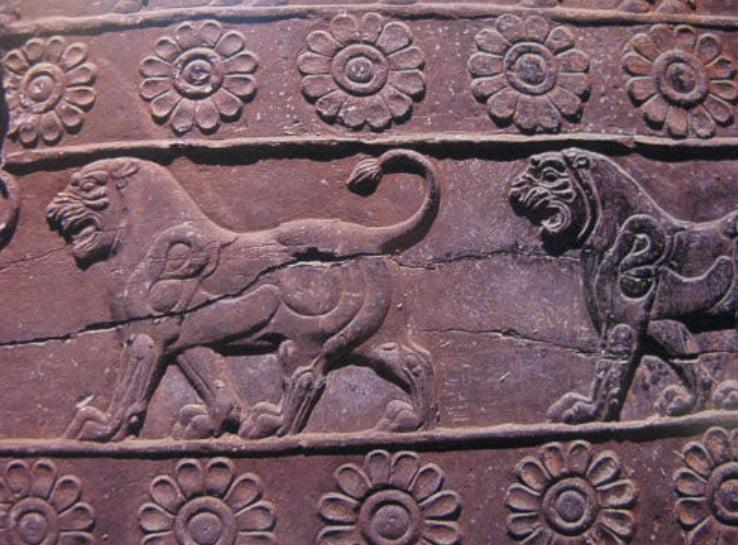 「ペルセポリス(ペルシア帝国の古都)」にたくさんあるレリーフ
