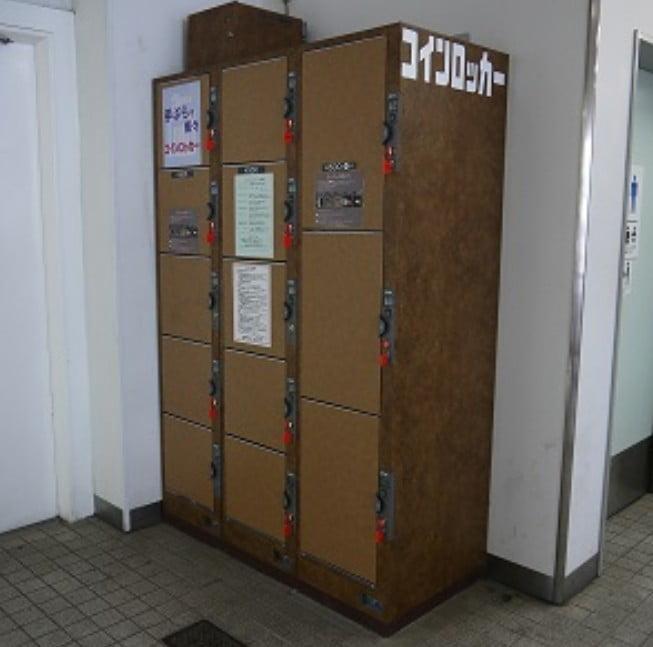 「近鉄筒井駅」のコインロッカー