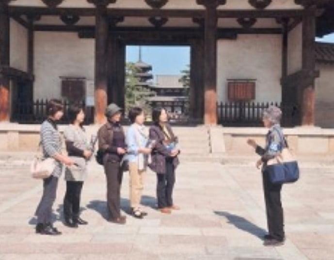 奈良・法隆寺の有料の案内ガイド