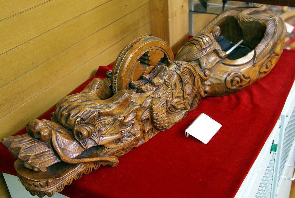 奈良 法隆寺・西伽藍「墨壺」 (2)