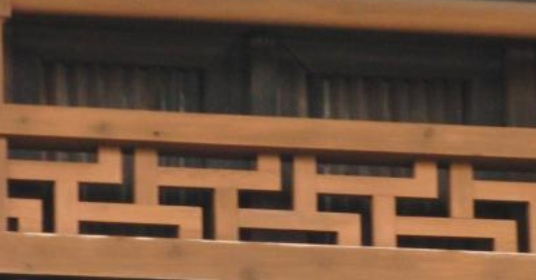 法隆寺「卍くずし」