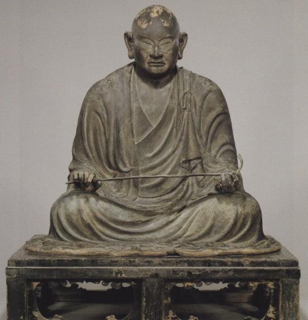 法隆寺・夢殿「行信僧都坐像」