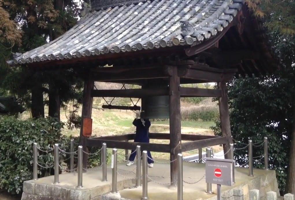 法隆寺・西円堂・鐘