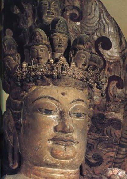 「法輪寺  十一面観音」の画像検索結果